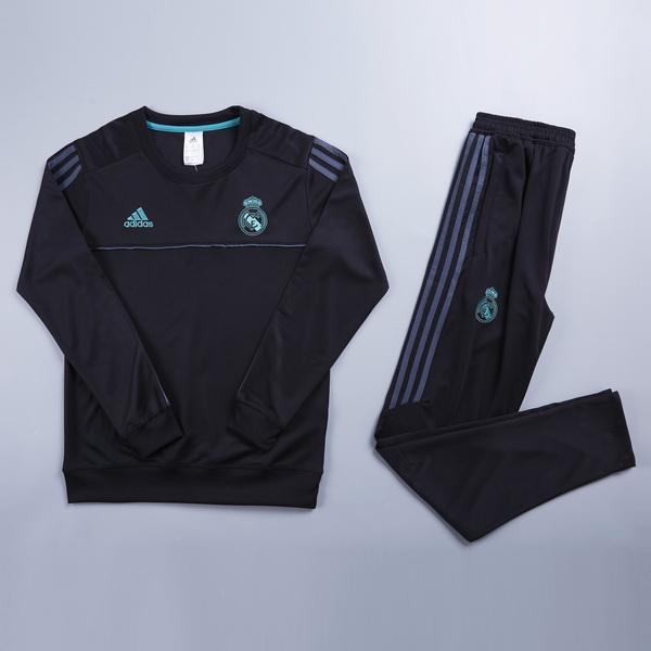 Comprar menos 80% de descuento en Chandal Ninos Real Madrid Negro ... 4b8c51d1cc622