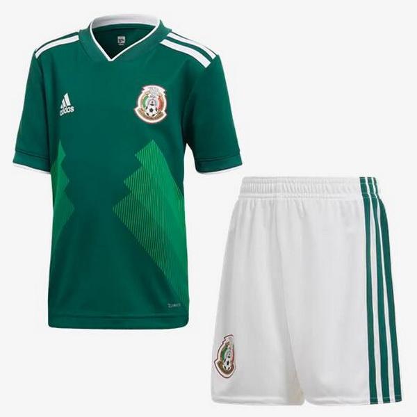 Camiseta Del Conjunto Completo Mexico Nino Primera Equipacion 2018 99e64578b8bfa