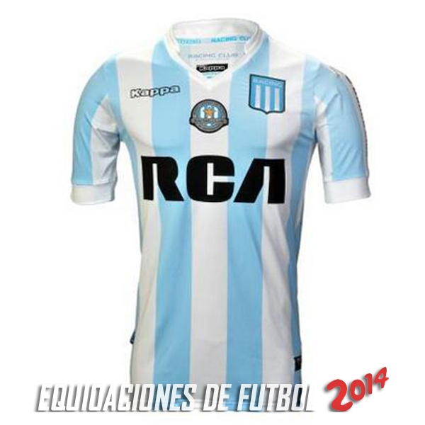 Camiseta De Racing Club de la Seleccion Primera 2017/2018