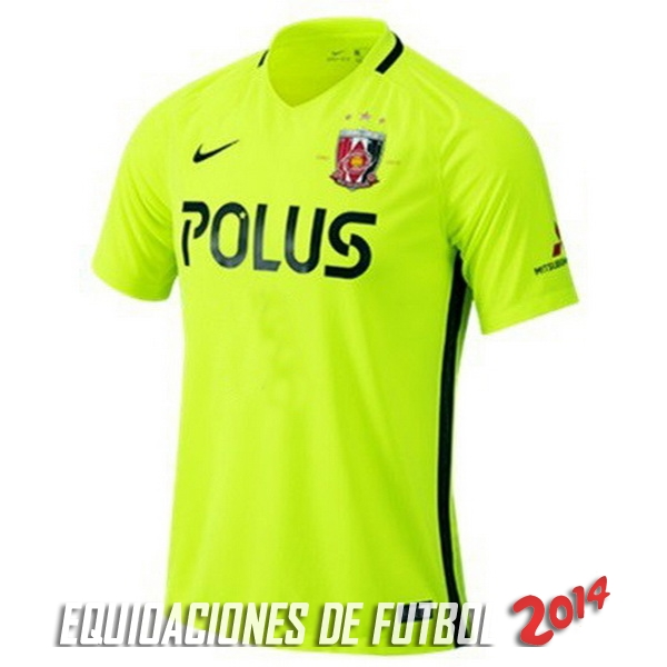 Camiseta Del Urawa Red Diamonds Segunda Equipacion 2017/2018