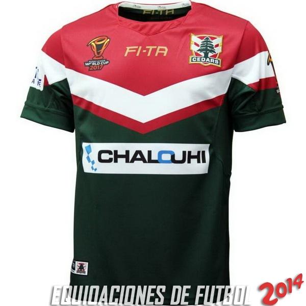 Comprar menos 80% de descuento en RLWC Rugby Camiseta Del Libano ... fd937db56f2dd