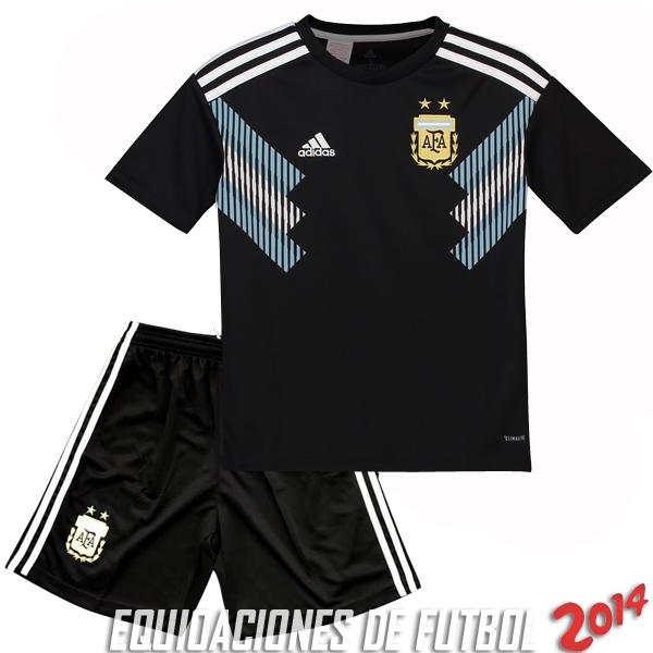 Camiseta Del Conjunto Completo Argentina Nino Segunda Equipacion 2018 0fc3f4293a2fa