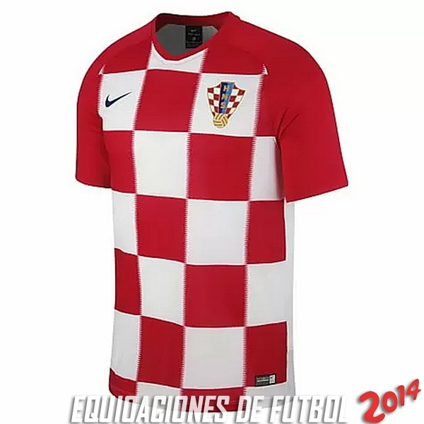 Tailandia Camiseta De Croacia de la Seleccion Primera 2018 87fbdfecdffc2