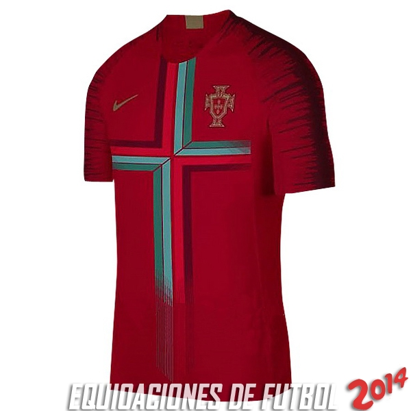 Pre Match Camiseta De Portugal Seleccion 2018 Rojo