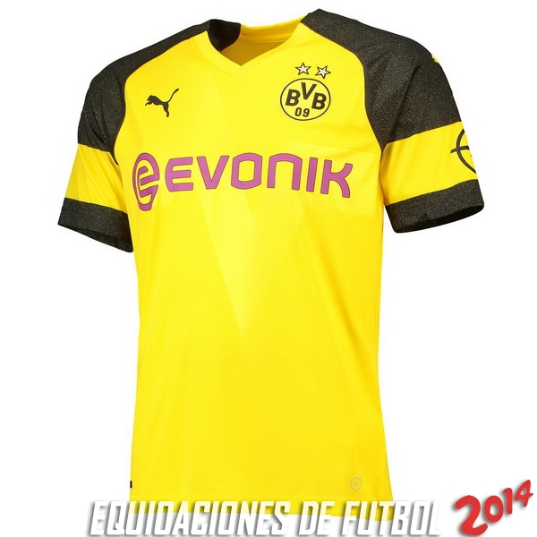Tailandia Camiseta Borussia Dortmund Primera Equipacion 2018 2019 ccd50916905