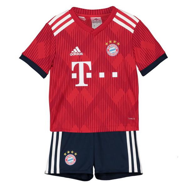 1bef7d614555f Camiseta Del Conjunto Completo Bayern Munich Nino Primera Equipacion 2018  2019