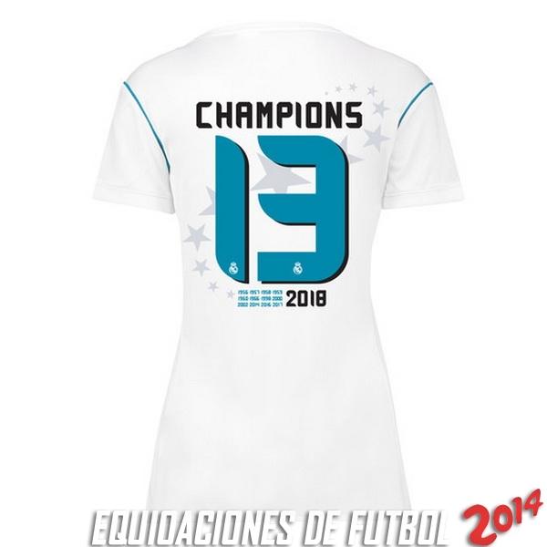 Comprar menos 80% de descuento en Camiseta Del Real Madrid Mujer ... 9a00911a71690