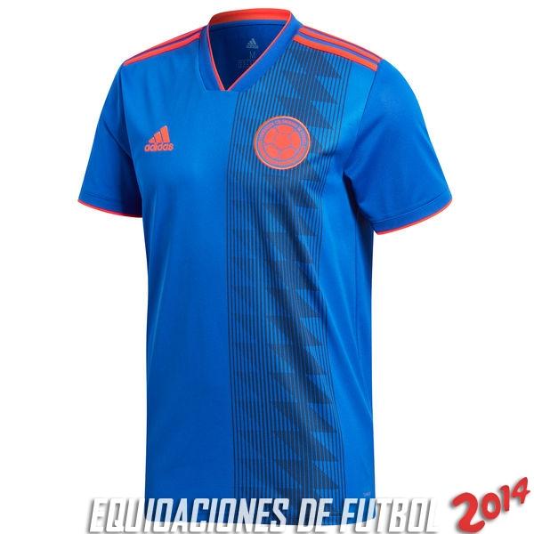 Tailandia Camiseta De Colombia de la Seleccion Segunda 2018 2a2136e730717