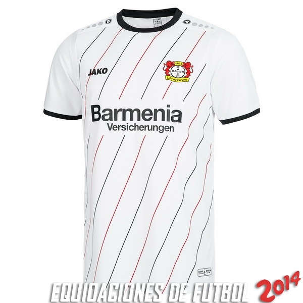 6fd9ffa16 JAKO 30th UEFA CUP Camiseta Del Bayer 04 Leverkusen Primera 2018 2019 Blanco