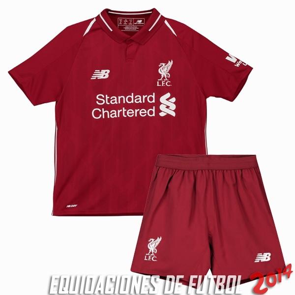b65c84d3314c5 Camiseta Del Conjunto Completo Liverpool Nino Primera Equipacion 2018 2019