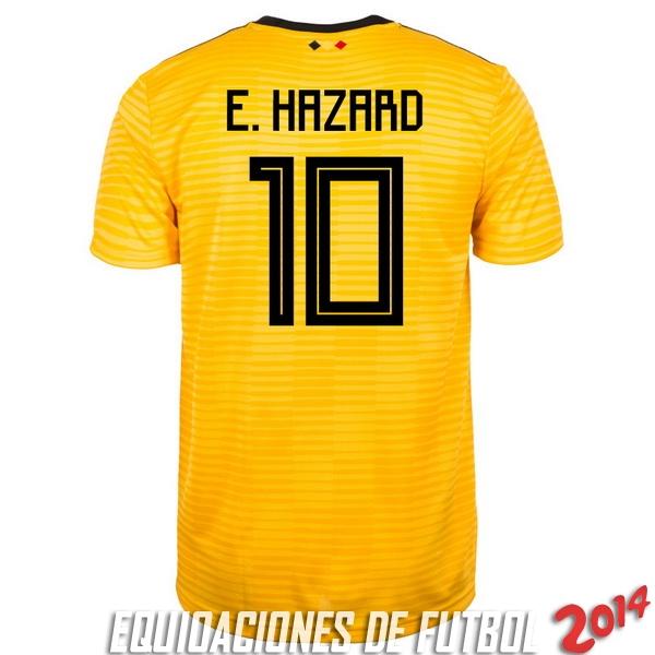 Comprar menos 80% de descuento en E.Hazard de Camiseta Del Belgica ... a350a226cf442