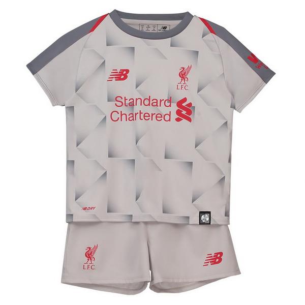 93b840c4fbf5b Camiseta Del Conjunto Completo Liverpool Nino Tercera Equipacion 2018 2019