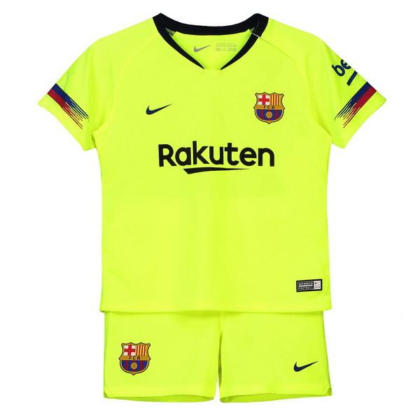 Camiseta Del Conjunto Completo Barcelona Nino Segunda 2018 2019 e9a117e58b0