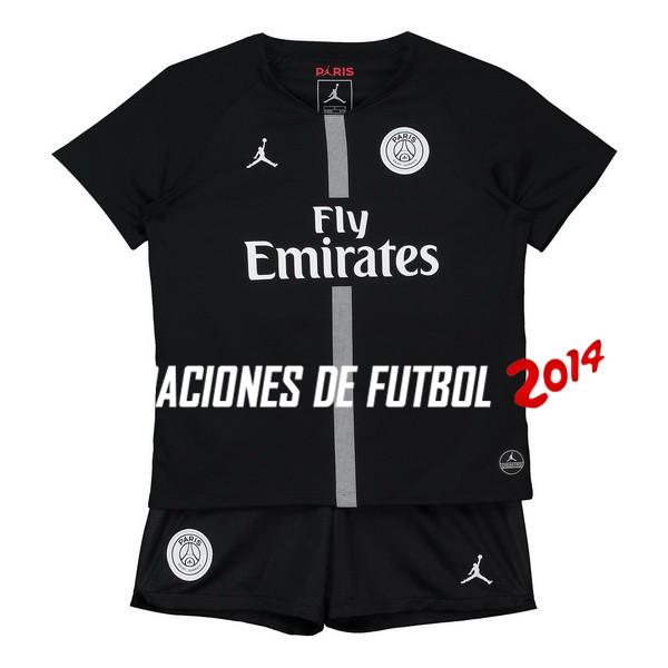Camiseta Del Conjunto Completo Paris Saint Germain Nino Tercera Primera  2018 2019 83338180fca20