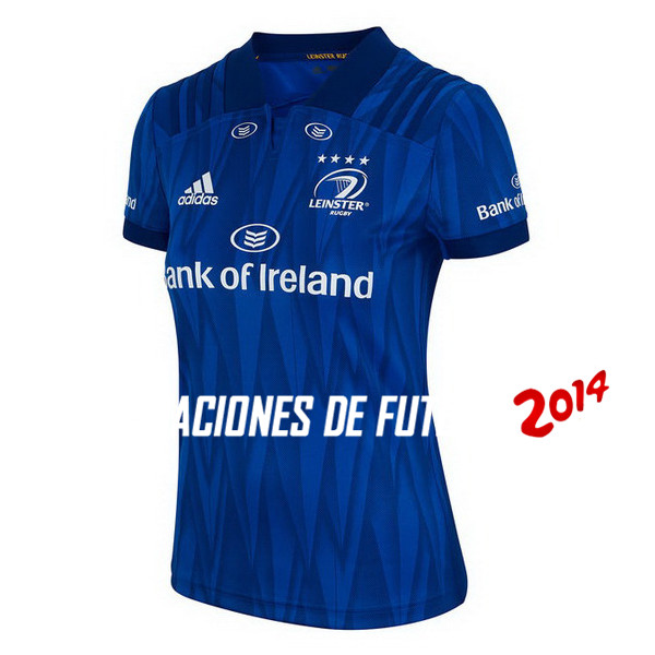 Rugby Camiseta De Leinster Mujer Primera 2018