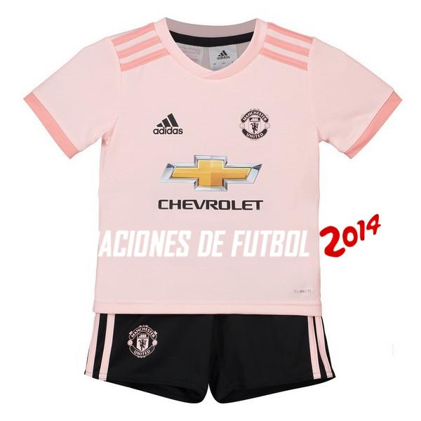 Camiseta Del Conjunto Completo Manchester United Nino Segunda Equipacion  2018 2019 82f6c013f41c4