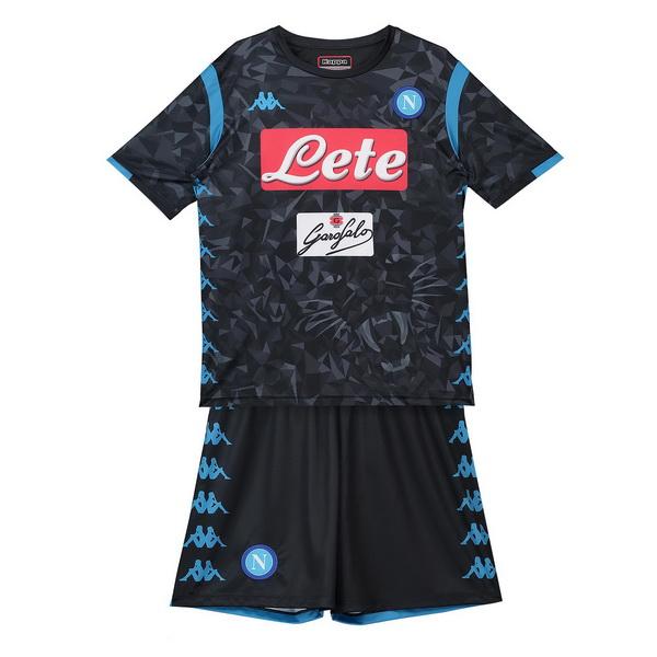 Camiseta Napoli Conjunto Completo Ninos Segunda 2018 2019 93e2b49b80e30