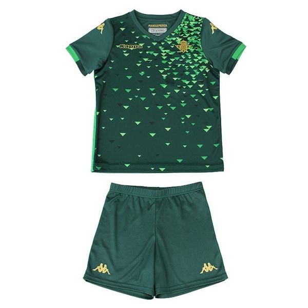 7e9dd4b8dc2d1 Camiseta Del Conjunto Completo Real Betis Nino Segunda Equipacion 2018 2019