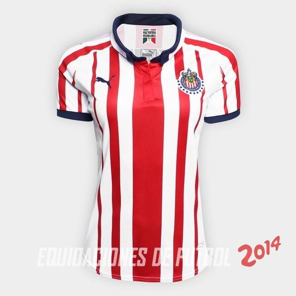 Comprar menos 80% de descuento en Camiseta Del CD Guadalajara Mujer ... b497c3b6d6e46