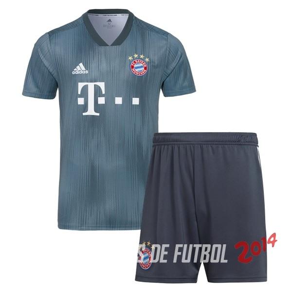 Camiseta Del Conjunto Completo Bayern Múnich Nino Tercera Equipacion 2018  2019 0a565b93196ce