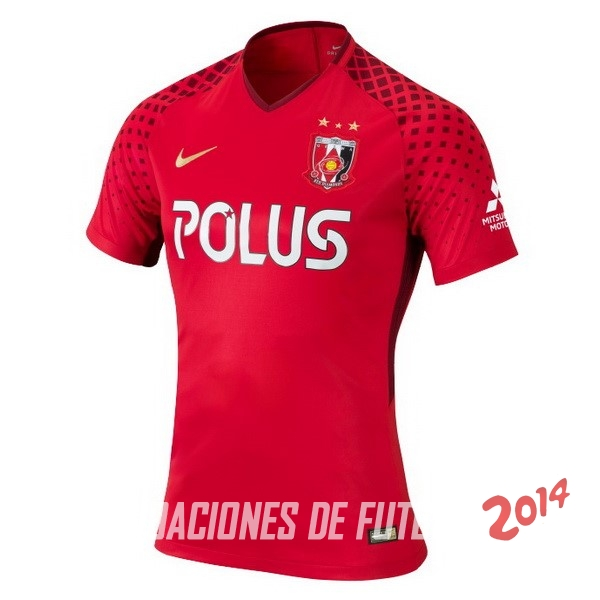 Camiseta Del Urawa Red Diamonds Primera 2018/2019