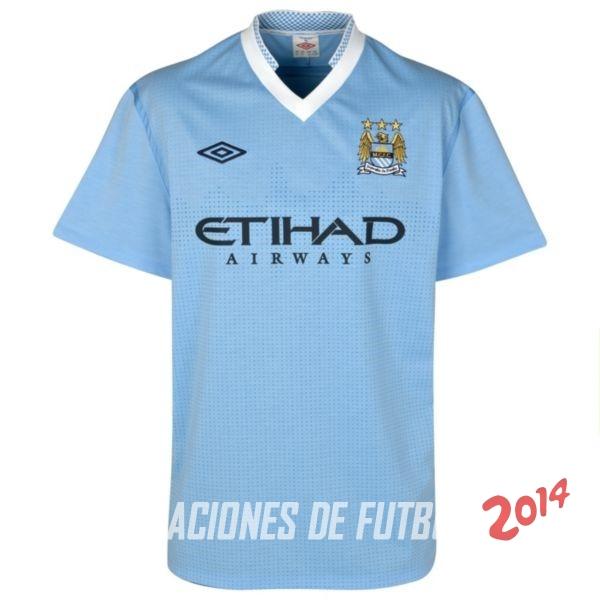 fa6691e73d58b Retro Camiseta De Manchester City de la Seleccion Primera 2011 2012