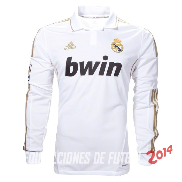 70277f992 Retro Camiseta De Real Madrid de la Seleccion Manga Larga Primera 2011 2012