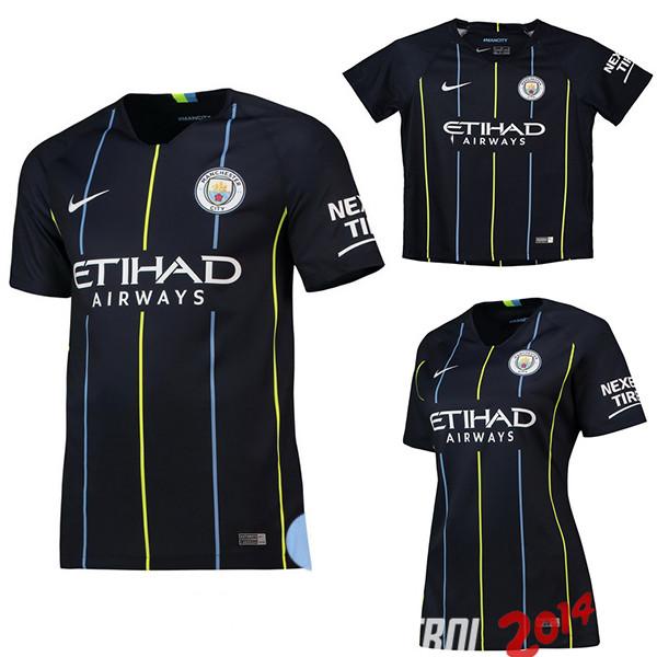 9d078aaf046c2 Camiseta (Mujer+Ninos)Del Manchester City Segunda 2018 2019