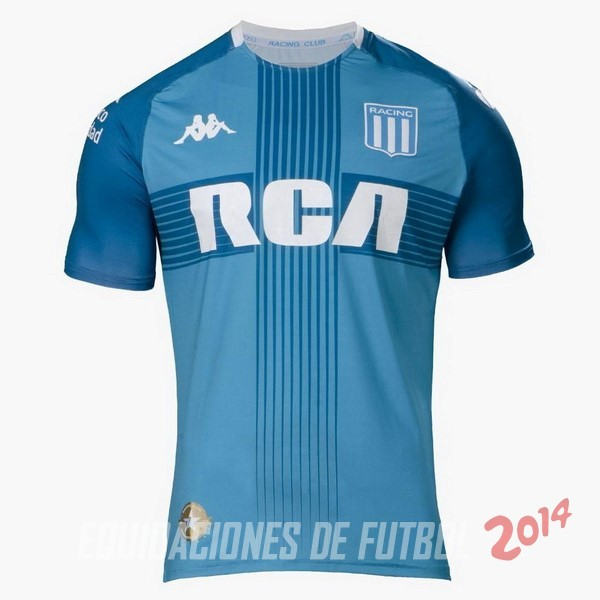 Camiseta Del Racing Club Tercera 2019/2020 Azul