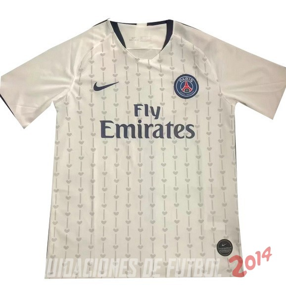 Entrenamiento Paris Saint Germain 2019/2020 Blanco