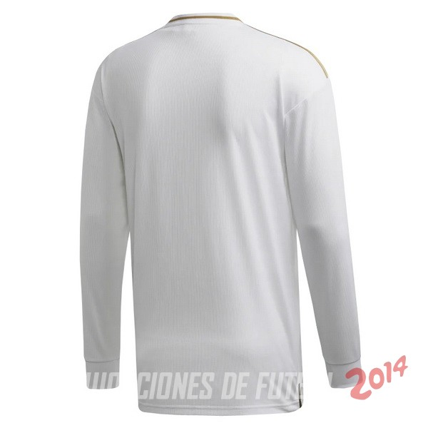Camiseta Del Real Madrid Manga Larga Primera 2019/2020