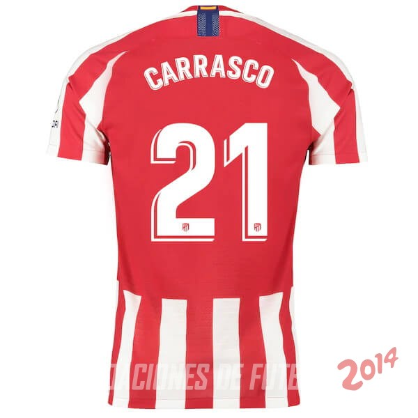 Carrasco Camiseta Del Atletico Madrid Primera 2019/2020