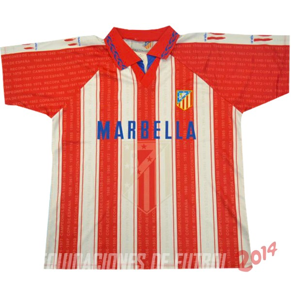 Retro Camiseta De Atletico Madrid Primera 1995/1996