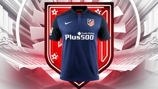 Segunda camiseta Atletico Madrid 2015-2016