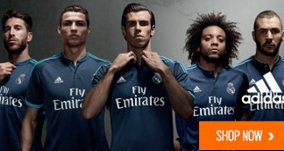 Tercera camiseta real madrid 15/16